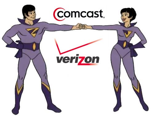Verizon and Comcast activate Wonder Twin powers in six more markets with cross-sales deal