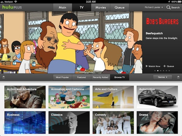 Hulu delivers 10 new original shows for the summer, iOS app with iPad retina display support