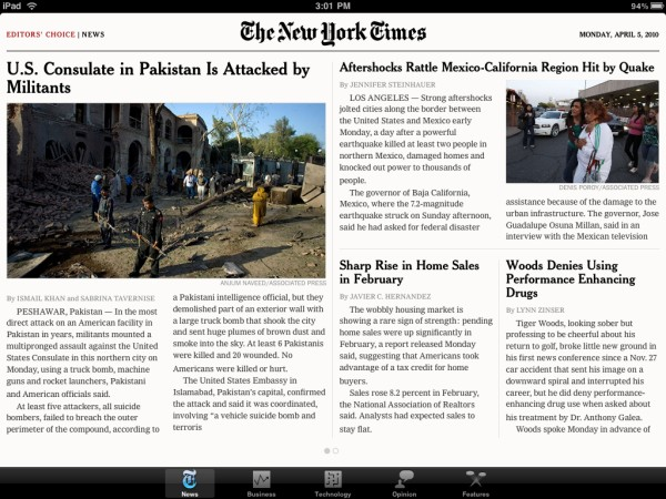 04 05 10nytapp New York Times sees higher circulation numbers, digital paywall smiles knowingly