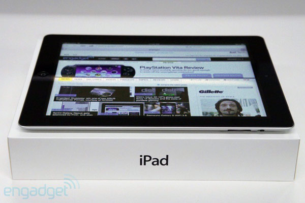 Engadget Giveaway win a new iPad, courtesy of Rebtel!