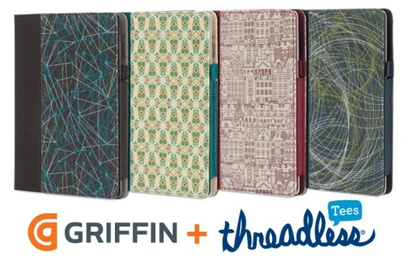 Griffin, Threadless team up to bring community new art to your iPad, iPhone