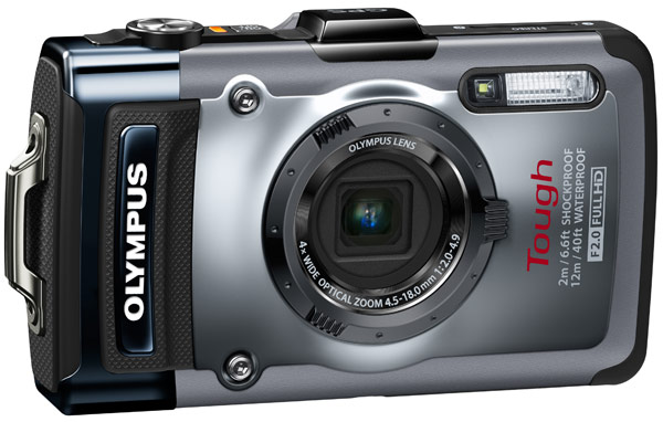 2012 oly tg 1left Olympus Tough TG 1 iHS packs 12 megapixel sensor, f/2.0 lens, ruggedized housing for $399