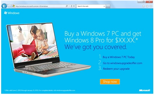 Microsoft offers $15 Windows 8 upgrades