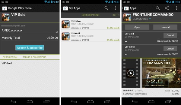 5 24 2012google play subscriptions lg Google brings in app subscriptions to Android