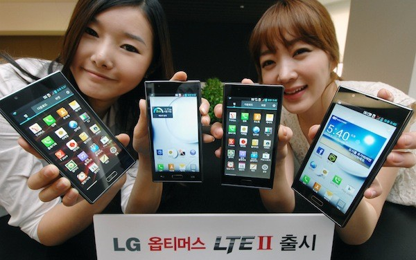 LG's Optimus LTE2 ships this week in Korea, nails down a few more specs