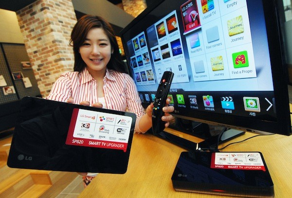 LG launches upgraded SMP820 Smart TV Upgrader box in June for about $170 US