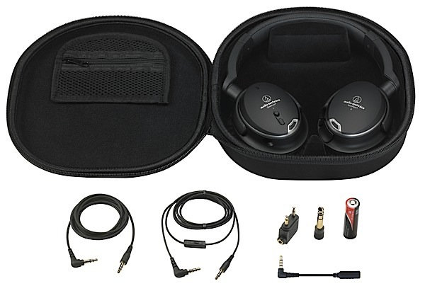 Audio-Technica unveils ATH-ANC9 noise-cancelling cans