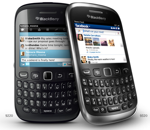 BlackBerry Curve 9220 / 9320 now official: BB OS 7.1, 2.44-inch display, same ol'