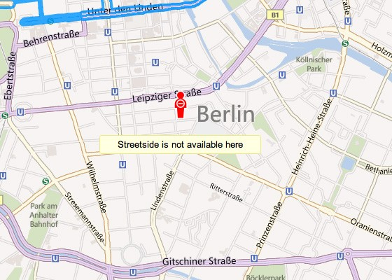 Microsoft takes Bing Streetside offline in Germany, privacy complaints to blame