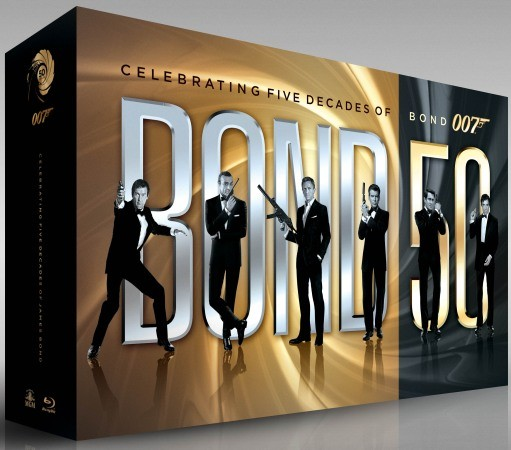 Bond 50 22-movie Blu-ray collection details revealed, ships in September (video)