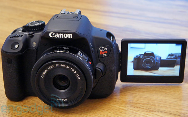 Canon touts EOS Rebel T4i with