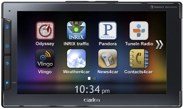 Clarion Next Gate brings iPhone apps (and distractions) to your windshield