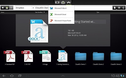 CloudOn brings its Office to Android tablets, adds support for Google Drive (video)