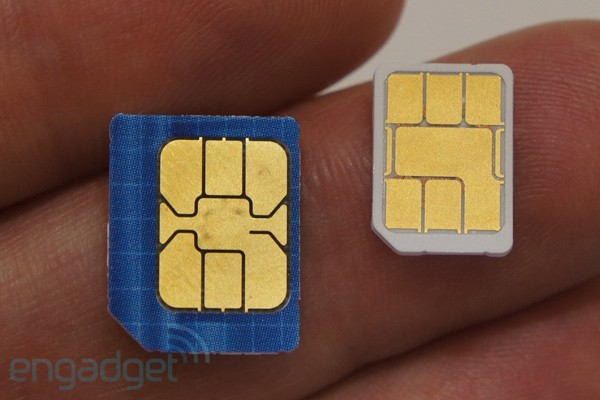 New smaller SIM format gets standardized, shrinks 40 percent