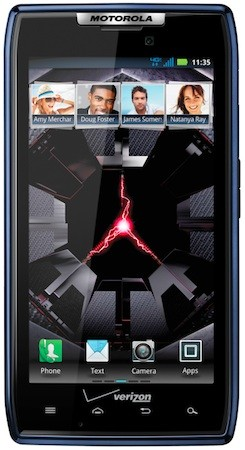 Blue Motorola Droid RAZR heading to Verizon on May 17th, ICS nowhere to be found