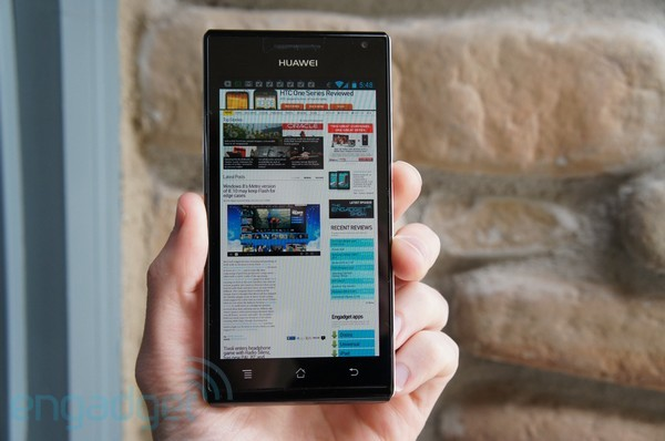 Huawei Ascend P1 review lead