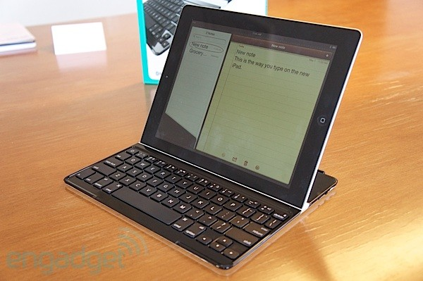 Hands on with Logitech's Ultrathin Keyboard Cover