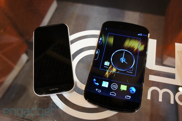 Hands-on with the Nyx Mobile Lyuba Max and Fun mockups
