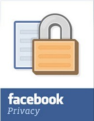 Facebook privacy padlock