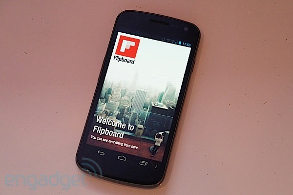 Flipboard for Android 'liberated' from Galaxy S III, available for all