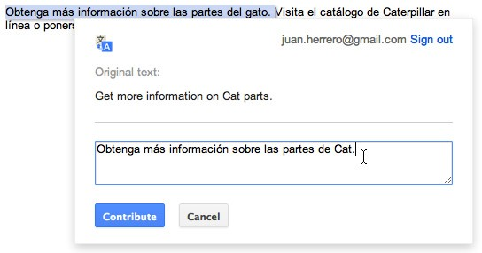 Google translate plugin update lets website owners improve their lingo