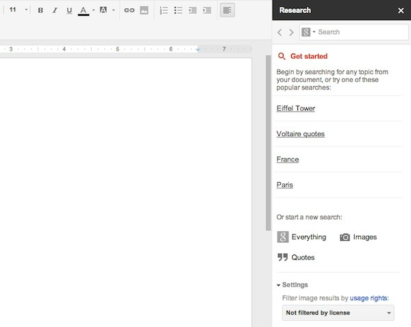 Google Docs gets new Research tool, lets you search ...