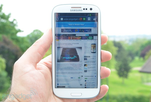 Galaxy S III review lead
