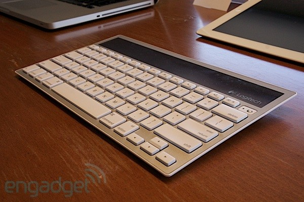 Logitech outs Apple-friendly Wireless Solar Keyboard K760, we go hands-on