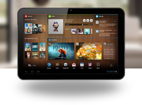 Insert Coin: Chameleon adaptive home screen replacement for Android tablets