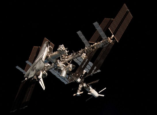 US and Russian space agencies to launch first year-long mission on the ISS