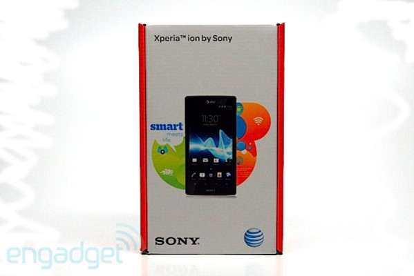photo image PSA: Sony Xperia Ion lands in US today, yours starting at $50 with two-years of commitment