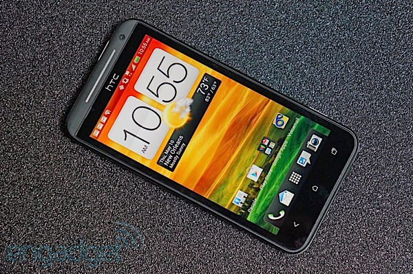 HTC EVO 4G LTE review on table