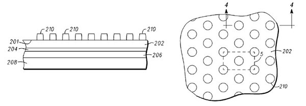 Motorola anti-smear patent application