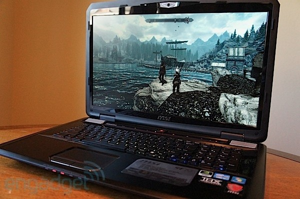 MSI GT70 gaming laptop kindly updated with GeForce GTX 675M graphics