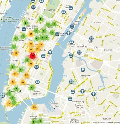 nymap5 15 NYCs Made in New York Digital Map lets you see whos hiring in the tech field