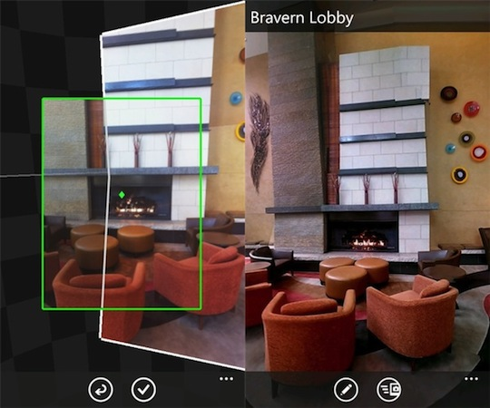 Microsoft's Photosynth app lets Windows Phone users in on the panorama craze