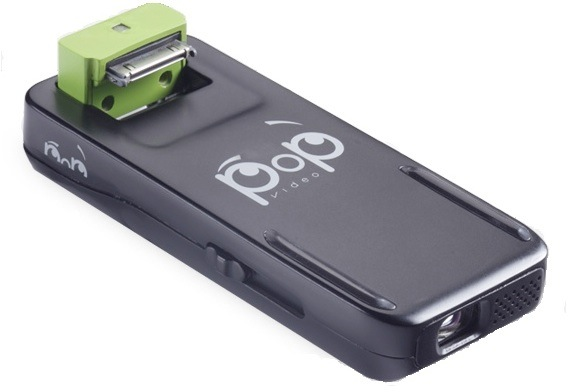 PoP Video peripheral turns iPod touches and iPhones into pico projectors for $99