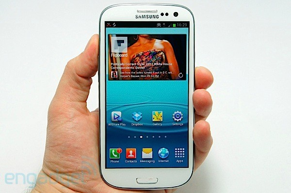 Galaxy S III hands-on