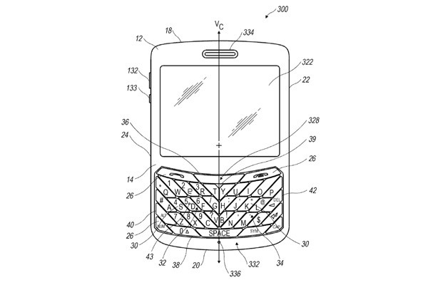 ImageRIM patents trapezoidal BlackBerry keyboards for slanty-thumbed texters