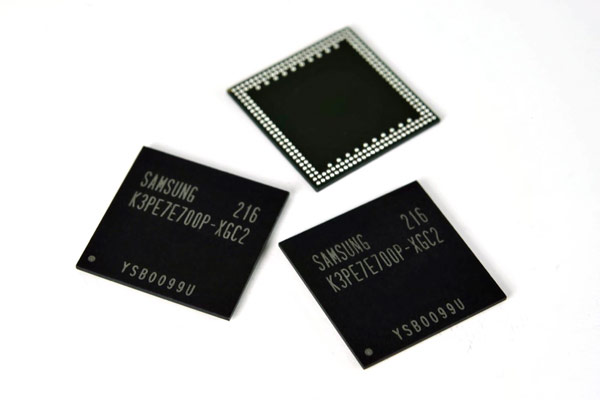 Samsung Mass-produces 4-gigabit LPDDR2 Memory