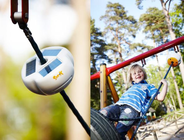 Solar-powered Son-X Octavia now bringing 'interactive sound' to school playgrounds