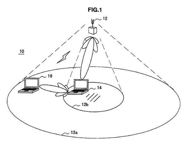 Sony wireless power patent