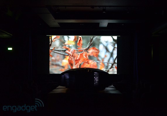 This is what native 4K home cinema looks like on Sony