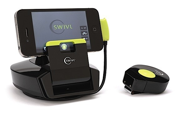 $  129 Swivl-it is a cheaper motion-tracking dock for your smartphone, ditches built-in mic