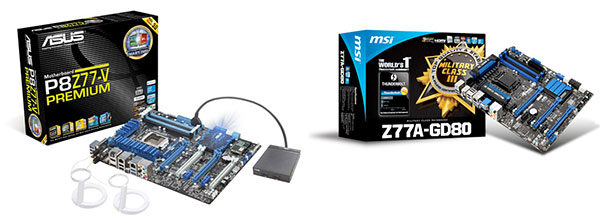 ASUS and MSI launch their first Thunderbolt motherboards, tie for first ever