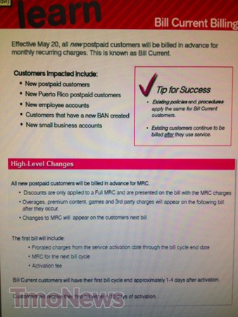 T-Mobile wants new customers to pay upfront, says its nothing personal
