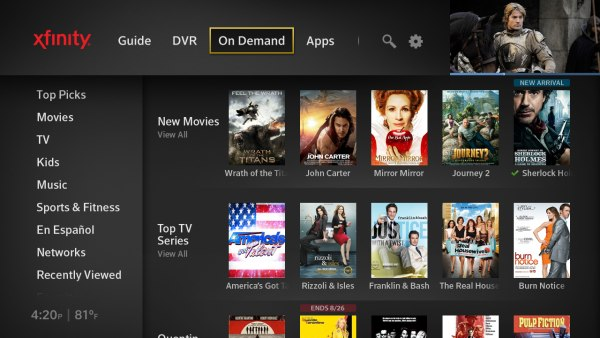 Comcast officially launches next-gen X1 DVR platform and iPhone remote app