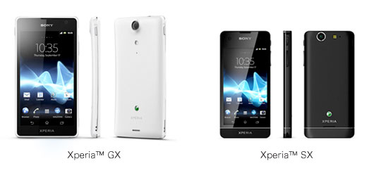 In-store Xperia GX and SX video footage pops up online