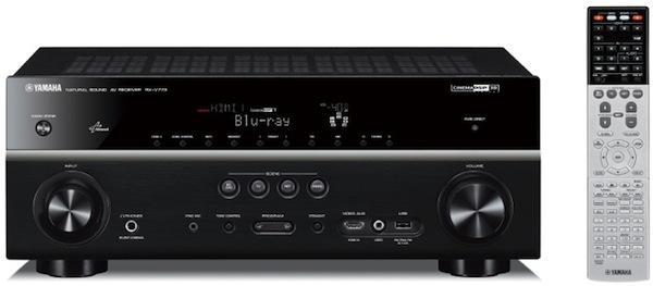 Yamaha outs RX-V773W, RX-V673 receivers: AirPlay and 4K / 3D passthrough on board