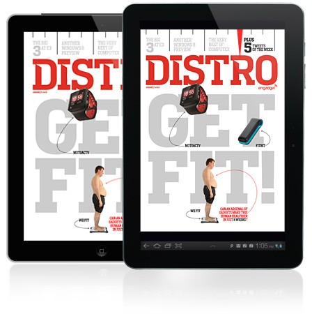 Distro Issue 44 is here and its time to get fit!